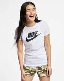 NIKE服飾系列-NSW TEE ESSNTL ICON FUTUR 女款白色短袖上衣-NO.BV6170100