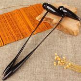 天然牛角按摩錘敲打錘子健身捶穴位經絡錘頸部按摩棒彈力拍敲背錘