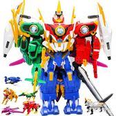 神獸金剛4 青龍再現麒麟兒童拼裝玩具套裝 神獸金剛合體變形機器人 CJ6053『寶貝兒童裝』