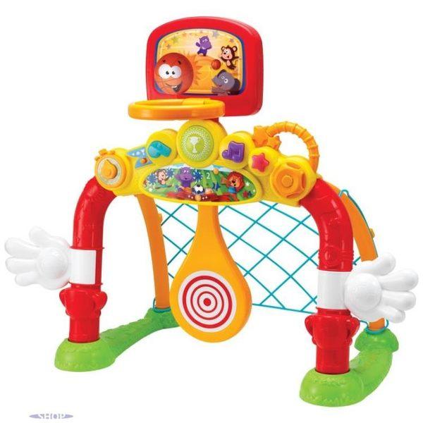 多功能運動場二合一寶寶室內籃球架足球門玩具    SQ5678『樂愛居家館』