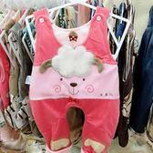 嬰兒吊帶褲卡通寶寶褲子造型褲外穿褲男女寶寶  伊衫風尚