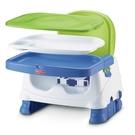 可按扣上蓋的餵食餐盤 可拆除椅背和餐盤供較大孩童使用 三段式高度調整與三點式背帶 附有可調式肩帶