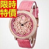 鑽錶-亮麗好搭唯美鑲鑽女腕錶8色62g38[時尚巴黎]