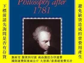 二手書博民逛書店[英文•罕見] 康德《1781年之後的理論哲學》 Theoretical Philosophy after 178