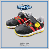 ADIDAS 小童鞋 DISNEY M&M CF 1 米奇 迪士尼 黏帶 黑紅 # B23888 ☆speedkobe☆