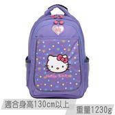 【IMPACT】HELLO KITTY-聯名護脊書包-成長型-紫 IMKT007LP