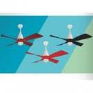 【燈王的店】《芬朵精品吊扇》52吋DC吊扇+LED 10W燈具+遙控器 風車系列 52WINDRAD 送基本安裝
