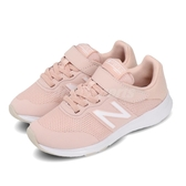 New Balance 慢跑鞋 Premus Version 2.0 NB 粉紅 白 童鞋 中童鞋 魔鬼氈 運動鞋【PUMP306】 YOPREMSPW