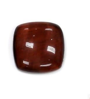 [協貿國際]天然紅虎石正方形圓角戒面DIY手工飾品配件(6入價)