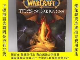 二手書博民逛書店【英文原版】World罕見of Warcraft Tides of Darkness 魔兽世界黑暗之潮Y323