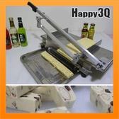 不鏽鋼手工製作甜點蔬果糕點厚薄可調整省力年糕特大切糖機【AAA1290】預購