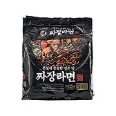 韓國 No Brand 經典炸醬拉麵(135gx5包) 【小三美日】團購/泡麵
