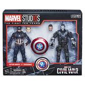 MARVEL超級英雄漫威電影工作室10週年07 LEGENDS傳奇黑標6吋 美國隊長 交叉骨 十字 內戰 玩具e哥