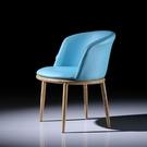 北歐餐椅現代簡約輕奢靠背網紅椅化妝椅書桌椅子家用售樓處洽談椅 LX 韓國時尚 618