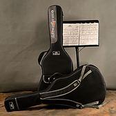卡馬吉他包黑色41寸吉他背包防水加厚海綿吉他包雙肩背包琴包琴盒HRYC【快速出貨】