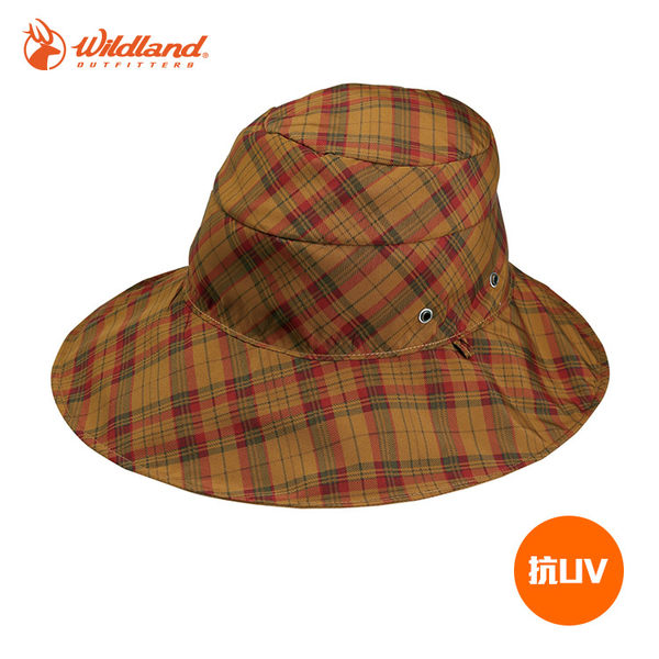 Wildland 中性抗UV遮陽帽W1016 / 城市綠洲 (UPF30+.防曬.防紫外線.機能帽.吸濕快乾透氣)