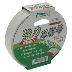 【奇奇文具】北極熊 CLT2415 24mm×15yds 白色布紋膠帶