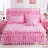 (低價促銷)夾棉床裙加厚床罩床蓋單件床裙
