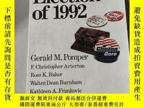 二手書博民逛書店The罕見Election of 1992:1992年的選舉Y212829