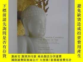 二手書博民逛書店紐約佳士得2010春季拍賣會中國瓷器及工藝精品圖錄,Fine罕見