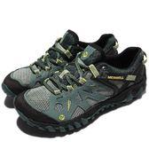 Merrell 戶外鞋 All Out Blaze Aero Sport 水陸運動鞋 越野 登山 草綠 黑 休閒鞋 女鞋【PUMP306】 ML37660