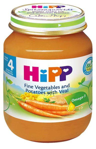 喜寶 Hipp 天然蔬菜小牛肉全餐 125g