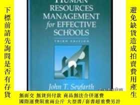 二手書博民逛書店Human罕見Resource Management For Effective Schools (3rd Edi