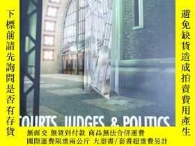 二手書博民逛書店英文原版:COURTS,罕見JUDGES & POLITICSY367822 Waiter F. Murphy