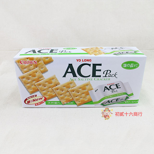 ACE優龍-原味蘇打餅乾140g【0216零食團購】4719850931032