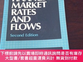 二手書博民逛書店Financial罕見market rates and flows(英文原版)Y271942 James C