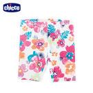 chicco-夏日海灘-女童花朵內搭五分褲