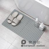 防滑墊/日本衛生間浴室淋浴房墊子廁所廚房腳墊洗手間衛浴地墊地毯「歐洲站」
