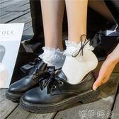 蕾絲襪 襪子女日系可愛短襪蕾絲蝴蝶結花邊襪子韓國純棉學生公主襪少女心 唯伊時尚