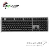創傑國際 Ducky Shine 7 槍灰色 PBT二色成形 Cherry MX RGB 機械式鍵盤 靜音紅軸 銀軸