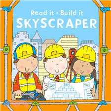 【堆疊遊戲書】READ IT BUILD IT:SKYSCRAPER /6個方盒+1本知識書
