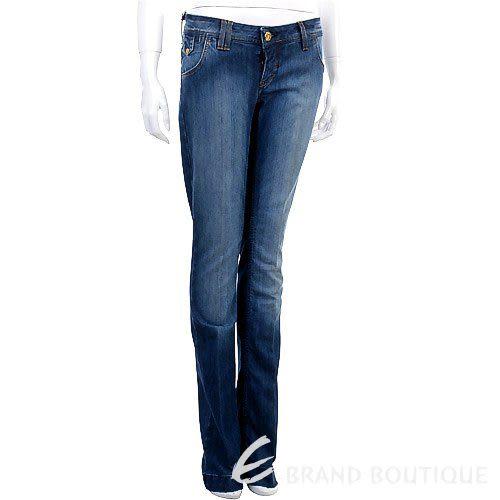 YES LONDON 深藍色刷白牛仔褲 0910012-23