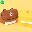 Line Friends 紙巾盒 車用抽紙盒 汽車遮陽板椅背掛式紙巾盒 熊大 布朗熊 莎莉 莎莉雞