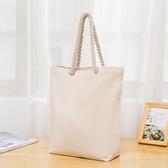 帆布包 棉繩帆布袋定做單肩棉布手提袋來圖定制空白DIY帆布包訂制印LOGO 8號店