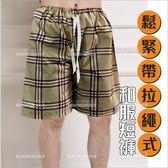 台灣美宏和服短褲(鬆緊帶拉繩款)-七款(指油壓客用)[21806]