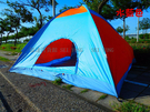 【億達百貨館】20622全新 3*3米帳篷熱賣八人單層 8人帳篷/野營帳篷 露營戶外 需自行組裝/好裝