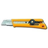 OLFA [大型美工刀] 【NOL-1】高級的特殊抗滑材質( Elastomer )握把 [替換刀片LB-10 LBB-10 LBD-10]