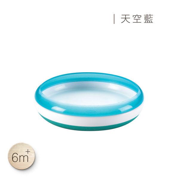 美國 OXO tot幼兒餵食防滑餐盤(天空藍)
