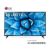 【南紡購物中心】LG 43吋 4K AI語音物聯網電視 43UN7300PWC