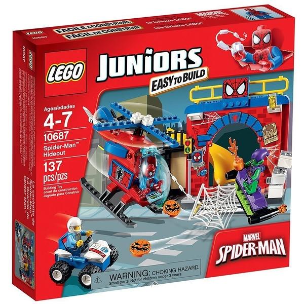 LEGO 樂高 Juniors 系列 Spider-Man Hideout 蜘蛛人藏身處 10687
