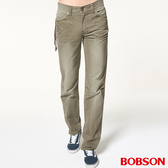 BOBSON 男款中直筒色褲(1734-41)