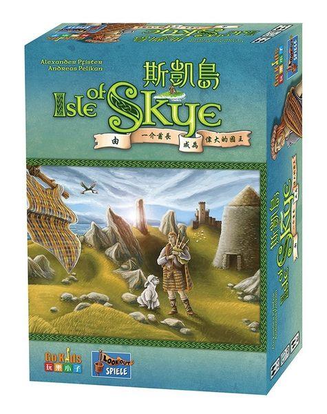 『高雄龐奇桌遊』 斯凱島 Isle of Skye : From Chieftain to King 繁體中文版 ★正版桌上遊戲專賣店★