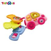 玩具反斗城 VTECH 聲光鑰匙小車-粉