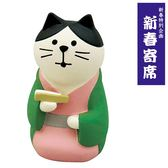 Hamee 日本 DECOLE concombre 落語漫才系列 療癒公仔擺飾 (落語家貓咪) 586-922487