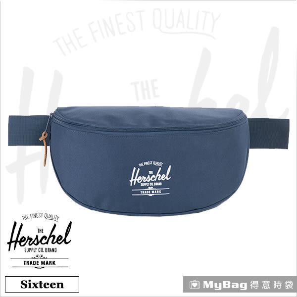 Herschel 腰包 海軍藍 單肩側背包 Sixteen-007 得意時袋