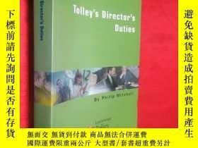 二手書博民逛書店Tolley s罕見Director s Duties 【詳見圖